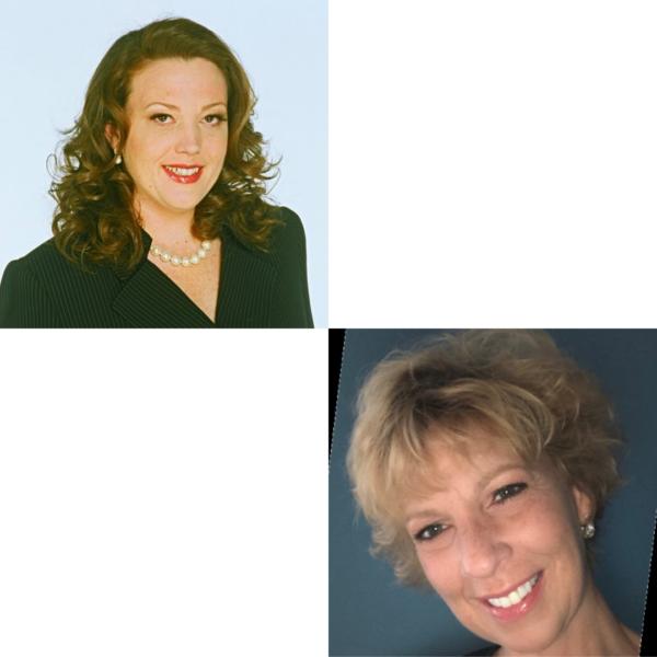 Headshots of Lori Becker and Julie Kauffmann